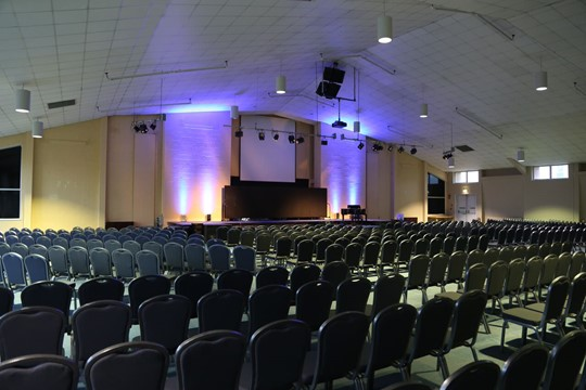 Main Hall Theatre Layout - Rear Left View 2